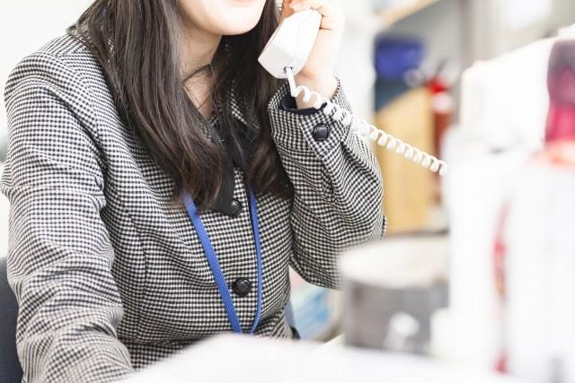 営業電話の着信情報について